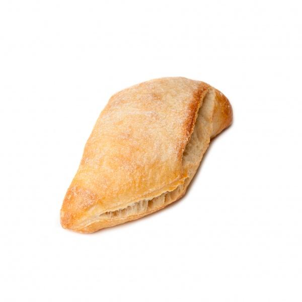 Panecillo en forma de rombo con aspecto semi-rústico. Para comer solo o acompañar un buen plato.