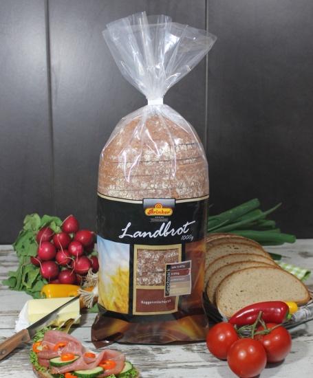 Un delicioso pan de mezcla de centeno cortado, listo para descongelar y consumir. Producto cortado.
