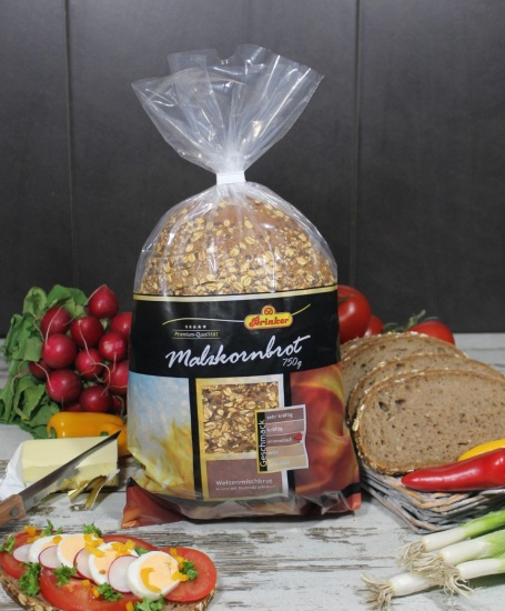 Un delicioso pan de mezcla de trigo con malta. Producto cortado y listo para consumir.