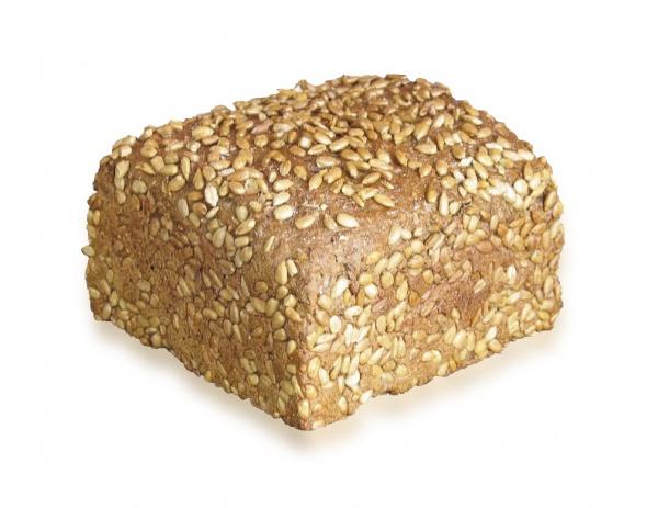 Pan de centeno con un 10% de pipas de girasoles y un 7% de espelta. Una delicia para el paladar.