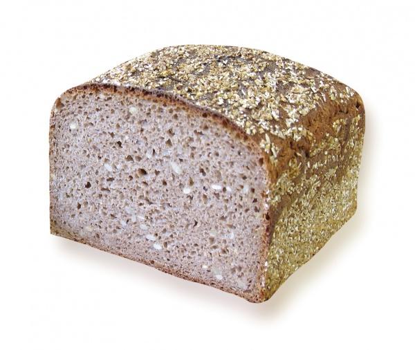Un espléndido pan integral con un contenido del 52% de harina de espelta y 48% de harina de centeno. Elaborado con masa madre natural.