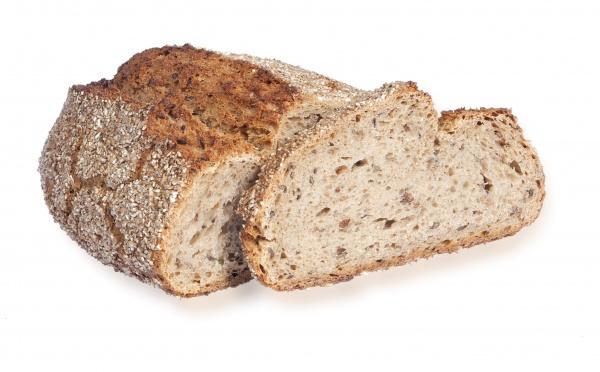 Sabroso y tierno pan de impresionante sabor y alto contenido en fibra. Está elaborado con masa madre natural.