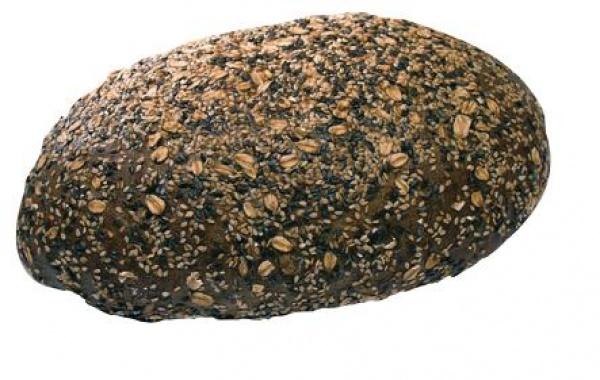 Un sustancioso pan de mezcla de trigo con pipas de girasol, cebada de soja, linaza, sésamo, copos de avena y malta tostada.