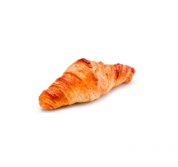 Mini croissant con un 24% de mantequilla. Su tamaño y peso lo hacen un producto ideal para la restauración.