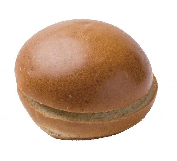 """Esponjoso pan de hamburguesa al estilo """"brioche"""". Suave y ligero, pero firme. Ya cortado para su rápido uso."""