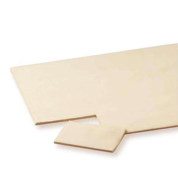Para los más hábiles en repostería, la placa de hojaldre que les permite desarollar sus creaciones. Medidas 33x53 cm.