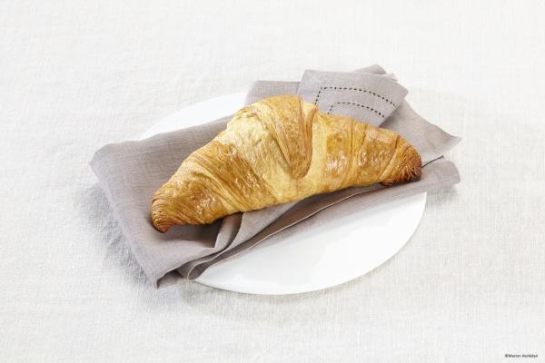Croissant de mantequilla. Una delicia para el paladar.